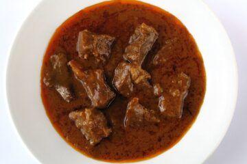 Gulasch. Ein Gericht aus der alten Zeit.